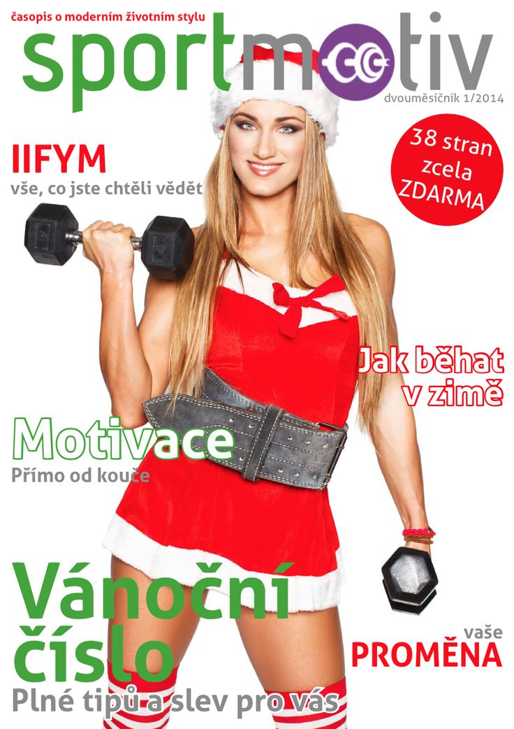 Find your sport motivation in the new Christmas issue of Sportmotiv magazine. #fitspo #magazine
