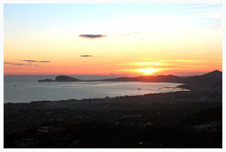 Veduta Gaeta al tramonto