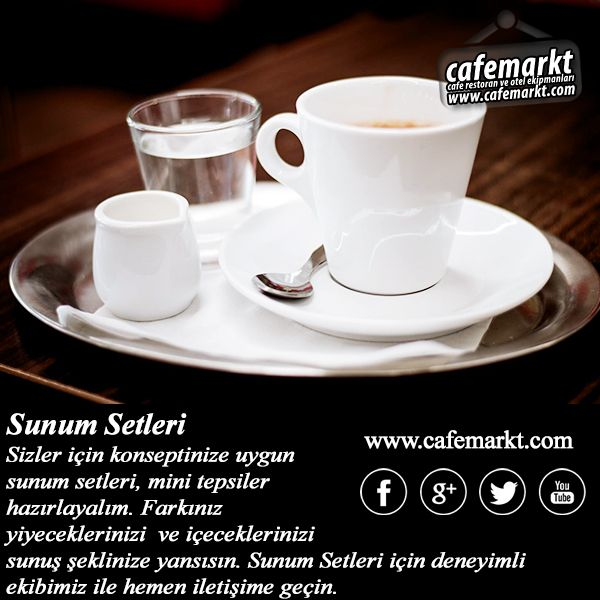 Sizler için konseptinize uygun sunum setleri, mini tepsiler hazırlayalım. Farkınız yiyeceklerinizi ve içeceklerinizi sunuş şeklinize yansısın. Sunum Setleri için deneyimli ekibimiz ile hemen iletişime geçin. http://www.cafemarkt.com #Cafemarkt #SunumSetleri #SunumTepsileri #SunumÜrünleri #CafemarktSunumlar #CafemarktWoodWorks