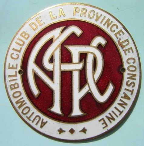 Automobile Club de la Provence de Constantine, Algeria
