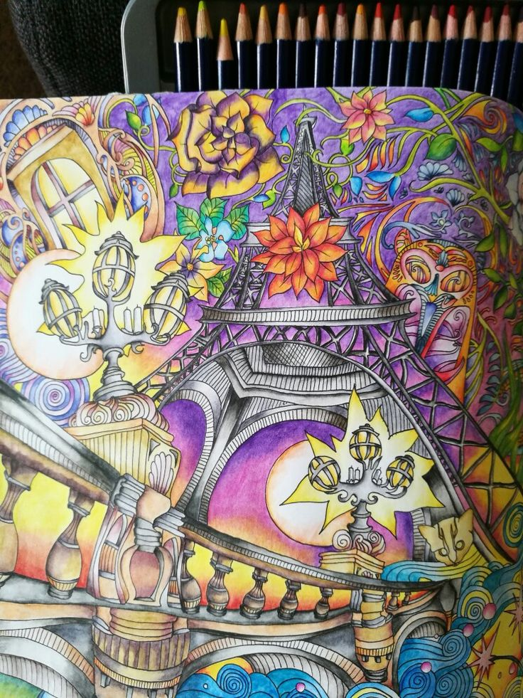 The Magical City Coloring Book