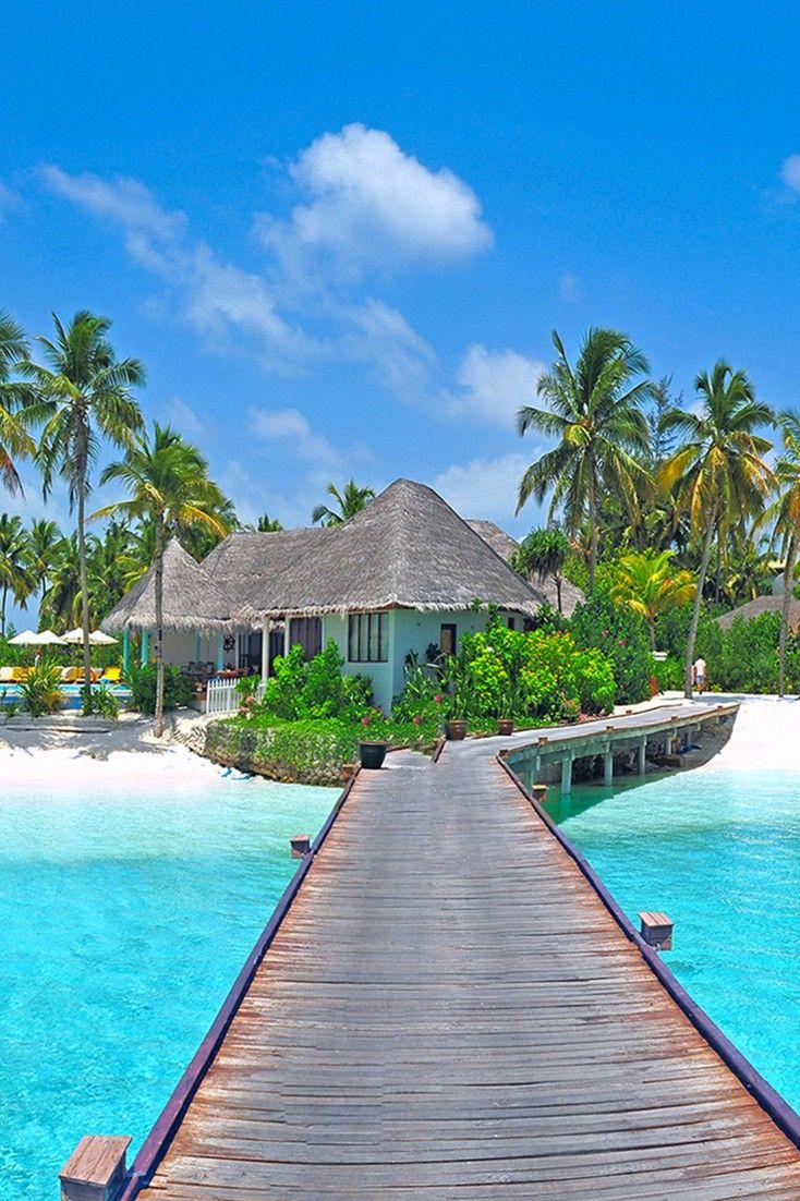 The Holiday Inn Kandooma Resort is an