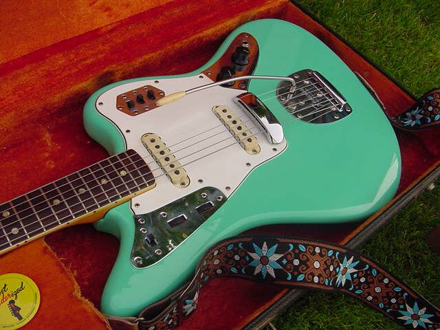 1966 Fender 'Foam Green' Jaguar, Vintage Guitar