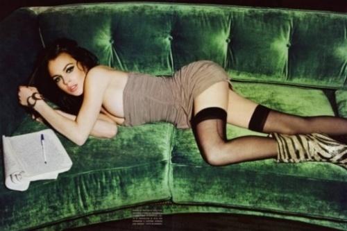 Lindsay Lohan art-photography