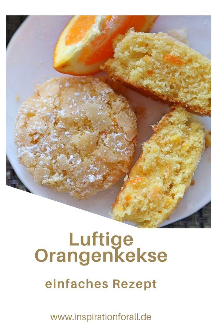 Orangenkekse sehr zart & aromatisch – einfaches Rezept