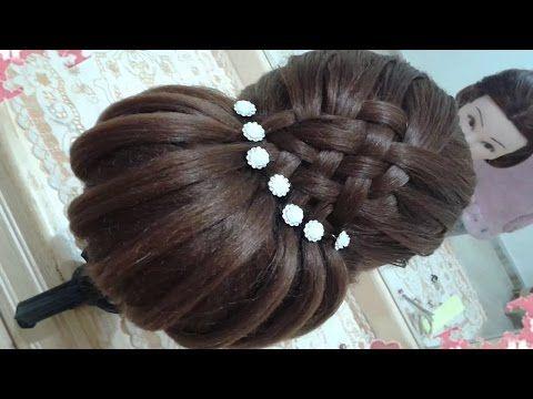peinados recogidos faciles para cabello largo bonitos y rapidos con trenzas para niña para fiestas37 - YouTube