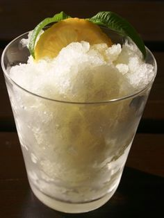 TRIED IT! Lemon Granita Recipe from Sicily. Made this with on New Years Eve. So yummy.