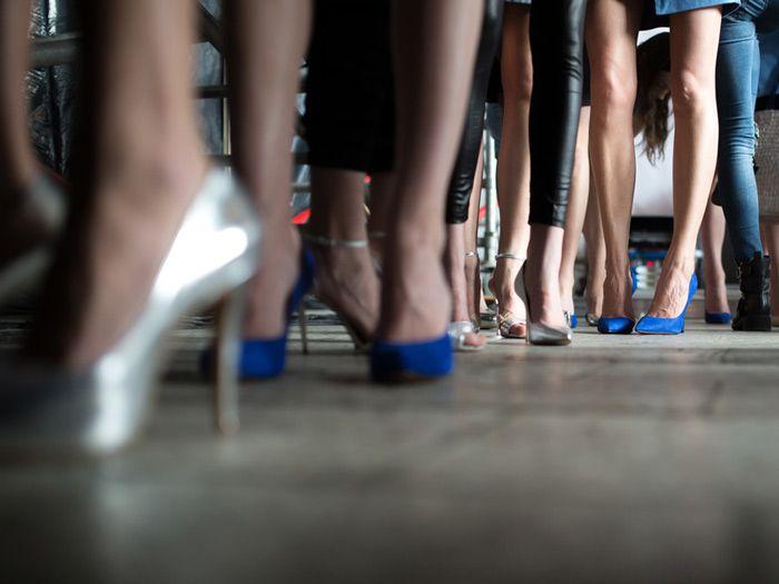 Free Paris fashion show at GALERIES LAFAYETTE'S FASHION SHOWS