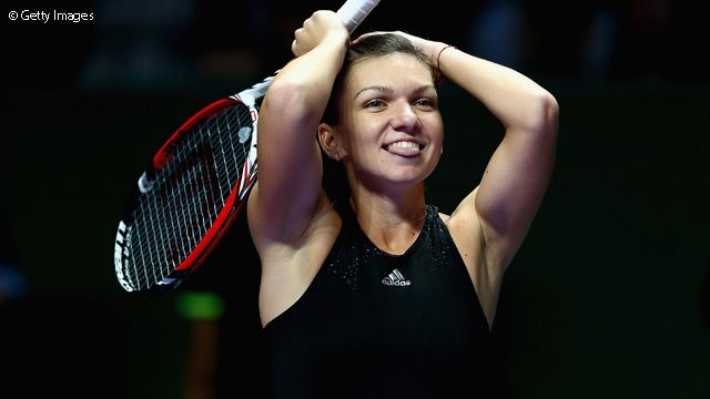 Simona Halep was just too solid, needing just 65 minutes to score her biggest career win, 6-0, 6-2.
