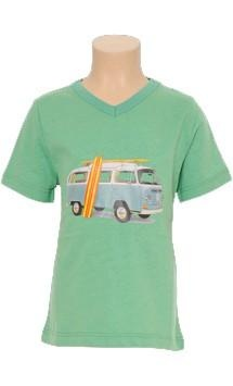 What about this great shirt for your little boy! Petit Louie - V-Neck Camper Single Jersey - Jongenskleding - Kids - Hippe Kippe