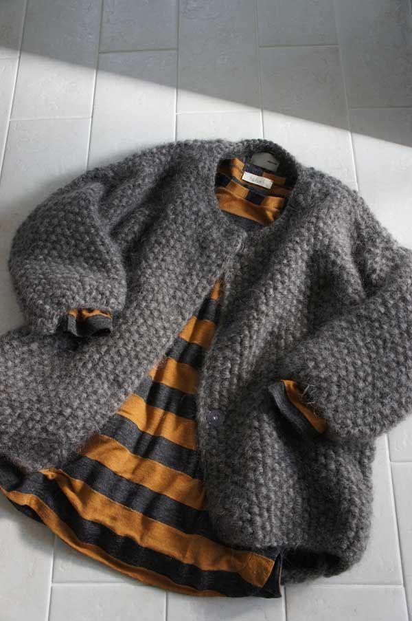 I like this jacket.  I think I need to knit one.