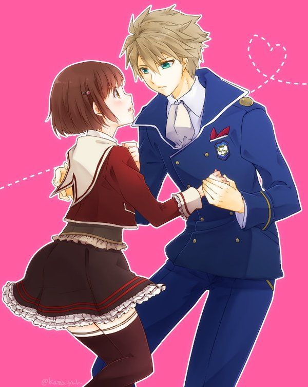 Anime Characters Dancing : Images about dance with devils on pinterest chibi