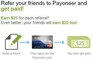 Ganar dinero 25 dólares gratis  payoneer, recibir retirar dinero paypal, clickbank, amazon, moneybookers, 2checkout, cj y muchos más