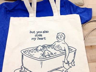 Stale Tequila tote bag