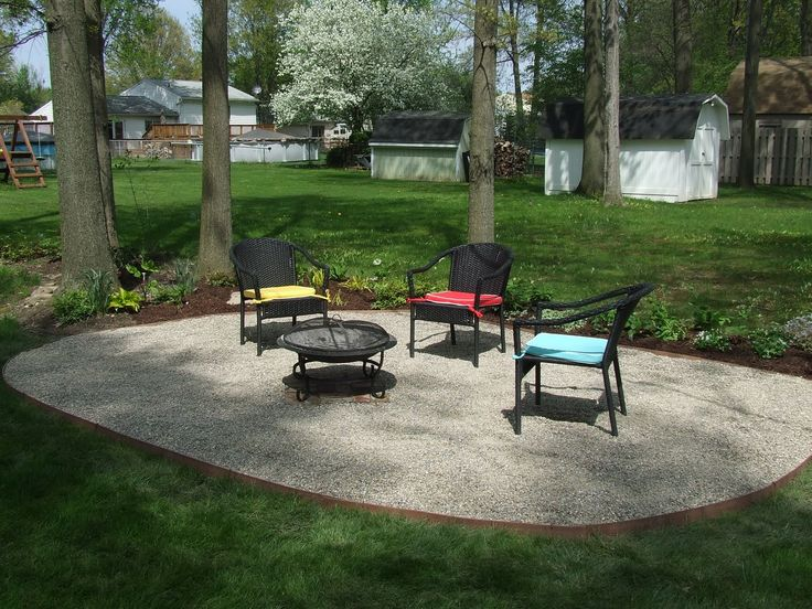 Garden Furniture On Gravel 43 best patio ideas images on pinterest | patio ideas, outdoor