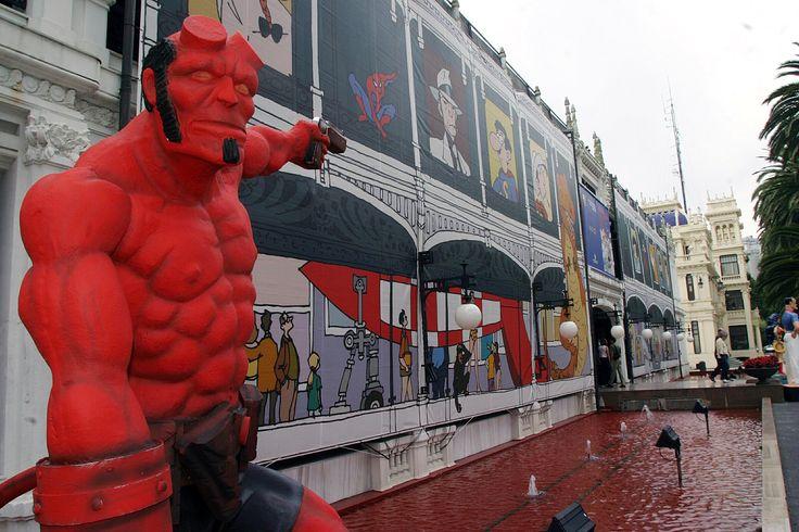 ¡El mundo del cómic llega un año más a nuestra ciudad! Desde hoy hasta el 13 de agosto en A Coruña Viñetas desde o Atlántico 2017. Exposiciones, artistas invitados, charlas, conferencias... +info: www.vinetasdesdeoatlantico.com #Viñetas2017 #MaríaPita17 #VisitaCoruña