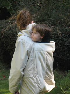 The Pure Baby: A Homemade Babywearing Coat for The Pure Baby