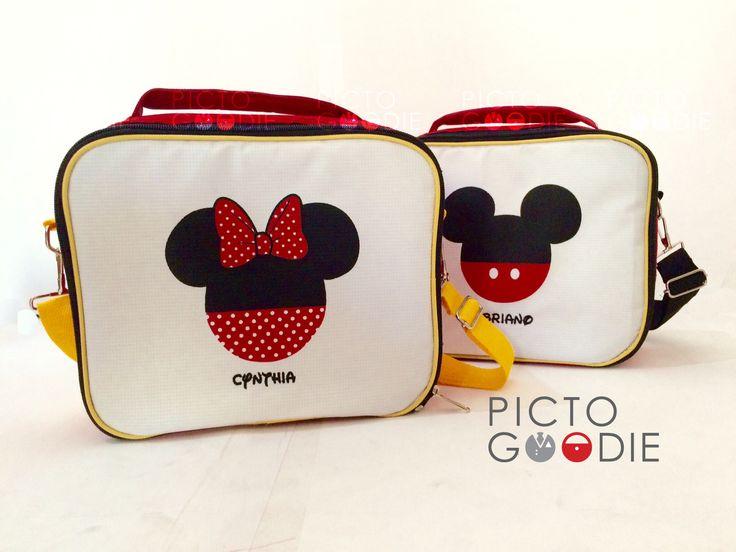 Tas Selempang - Mickey Minnie Theme