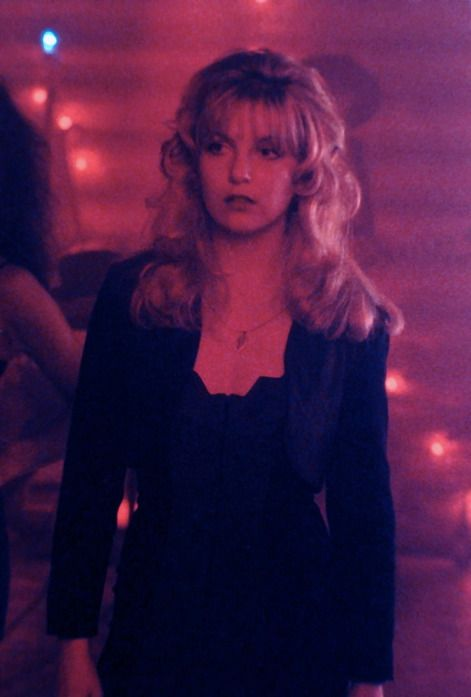 Laura Palmer (Sheryl Lee) in the Pink Room.