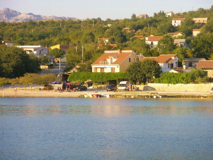 Appartement aan zee in Kroatië.