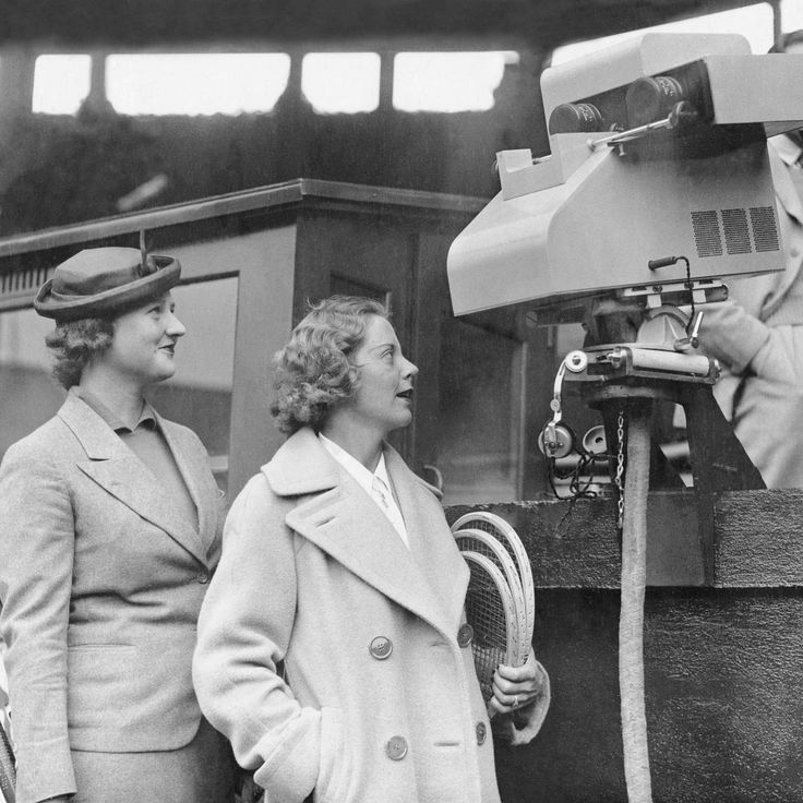 21/06/1937 - Marks the day Wimbledon was first televised by the BBC