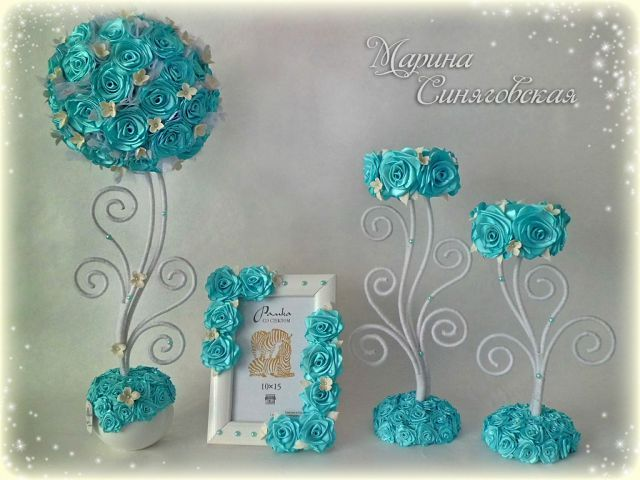 Tiffany Blue Topiary