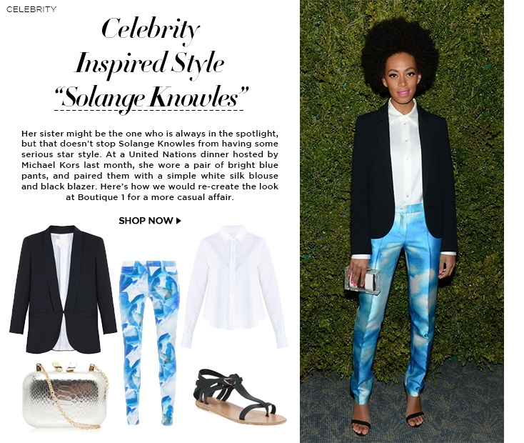 Celebrity inspired by : Solange Knowles