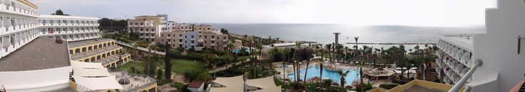 Room with a view at St George Hotel Paphos Cyprus