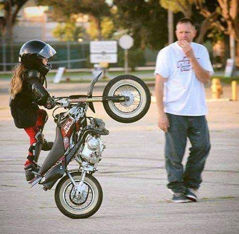 This kid can stunt!