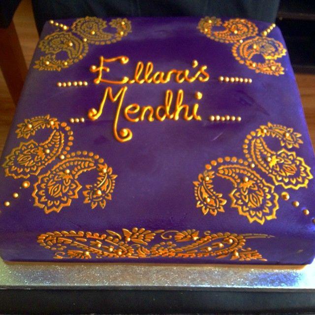Mehndi Cake Stencil : The best mehndi cake ideas on pinterest henna