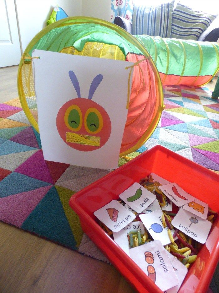 The Very Hungry Caterpillar Feeding Game - Monkey and Mouse