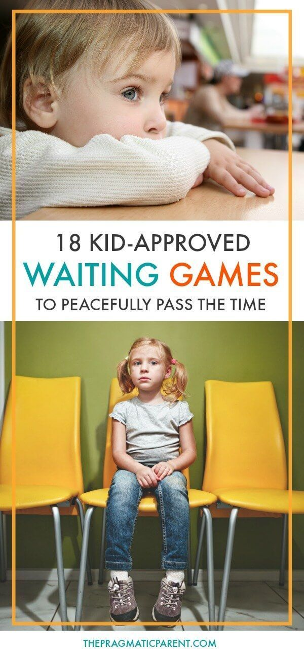 18 wonderfully fun and kid-approved waiting games you can pull out on the go to help pass the time when you're waiting with your kids. Waiting with kids can be hard, and sometimes painful, but these games make waiting with kids enjoyable and time passes much quicker.  via @https://www.pinterest.com/PragmaticParent/