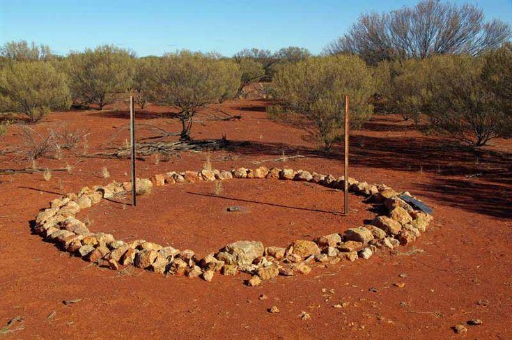 Aboriginal stone circle