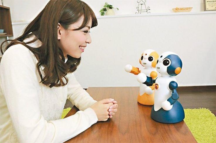 日本機器人小護士 會聊天量血壓 桌上型機器人Sota