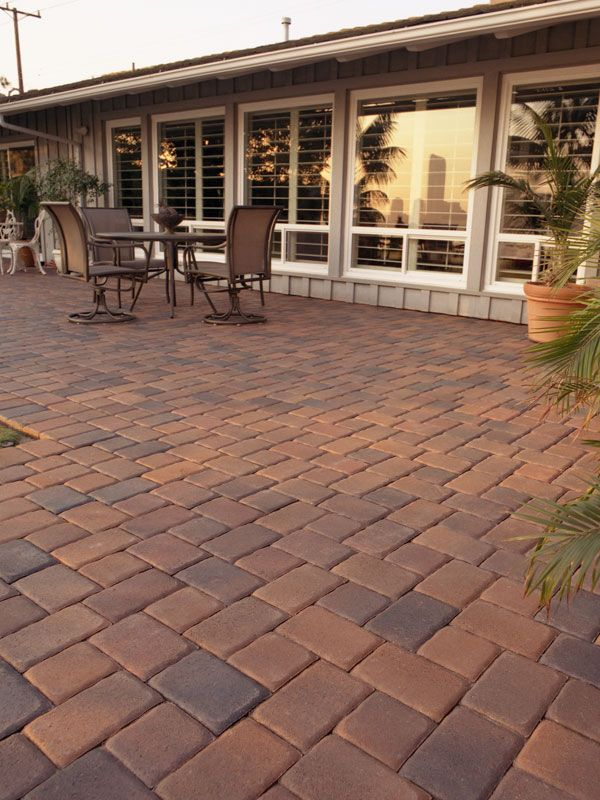 Brick Paver Patio With Fire Pit Cost: Best 25+ Interlocking Pavers Ideas On Pinterest