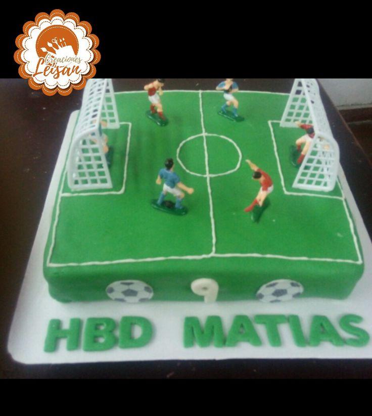 Tortas para los amantes del fútbol #tortasleisan