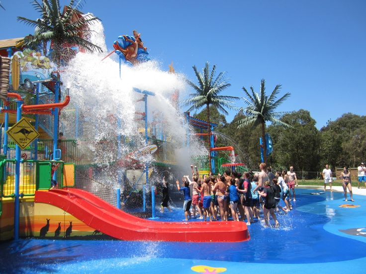 funnest water parks  in the world | park just launched two new rides the funnel web is the biggest water ...