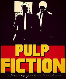 Pulp Fiction Digital Art - Pulp Fiction by Kyle J West