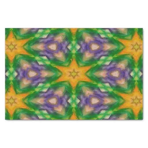 Mardi Gras Stars #4950 tissue paper 10X15 Tissue Paper (sold my first tissue paper design - Colorado!) Thank you.