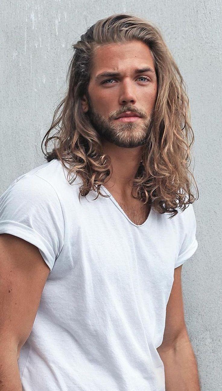 Open Hair Mane Hairstyle for Men in 2020 | Lange haare