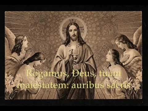 Attende Domine is a Lenten hymn of supplication. This hymn is primarily used during the Lenten season, but is also good for any use.