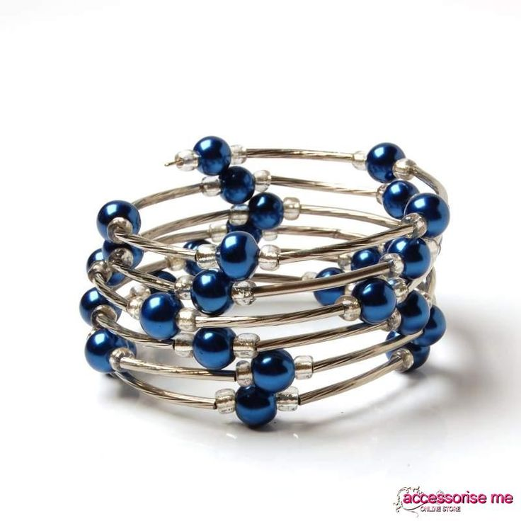DIY napkin rings (Wire w/ bead work)