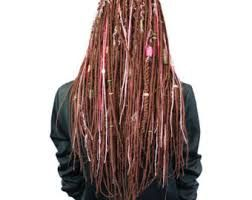 how to make thin dreads