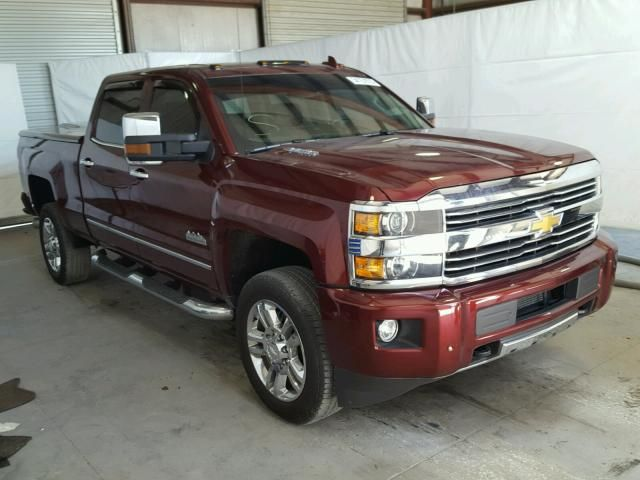Salvage 2016 Chevrolet Silverado High Country Pickup For Sale