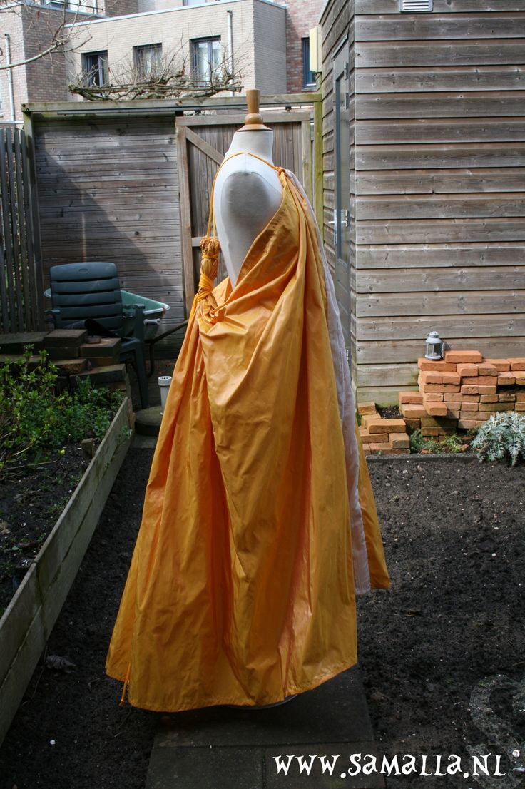 Game of Thrones: Ros Yellow dress. (cosplay, larp). Silk and cotton