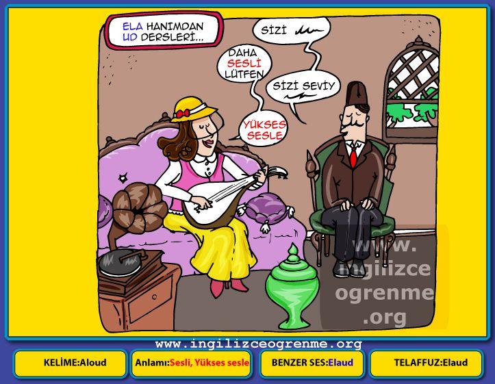 Aloud Türkçe anlamı nedir? - Ücretsiz İngilizce öğrenmek
