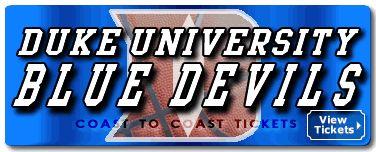 Duke Blue Devils Basketball Tickets & Schedule | Coast to Coast ...