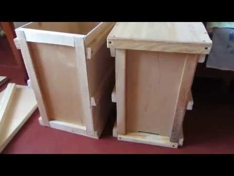 Ловушки для бджіл своїми руками. Початок (Ловушка для пчел своими руками. Начало.) - YouTube