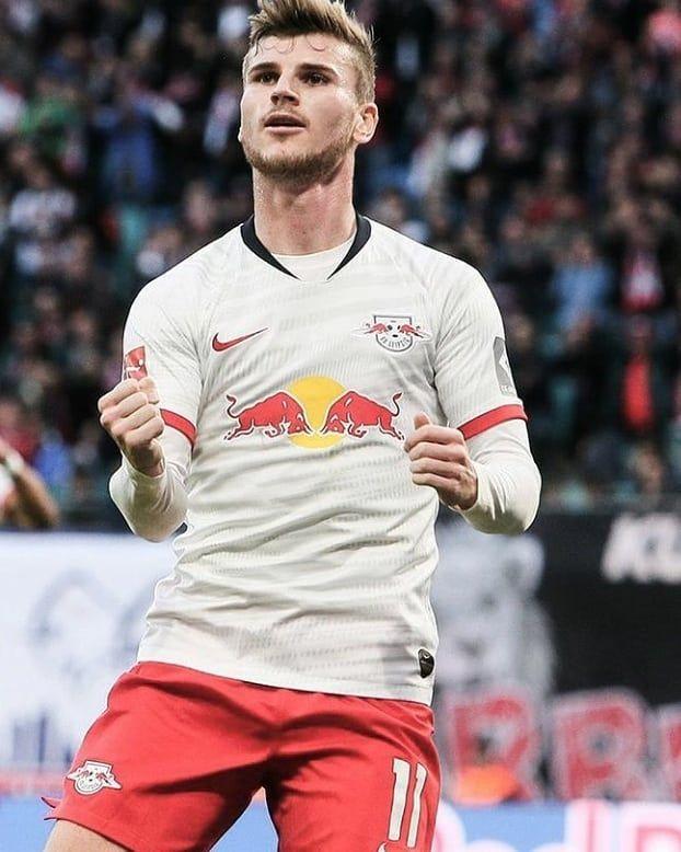Timo Werner Na Temporada Bayern Futebol Gol