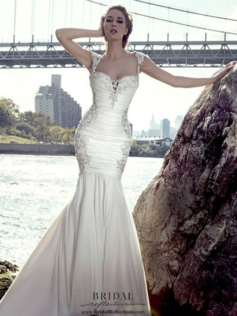 Stephen Yearick 14093 Size 8 Wedding Dress – OnceWed.com